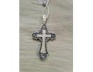 12-063 Крест (Ag 925)