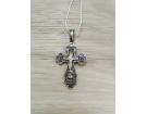 12-075 Крест (Ag 925)