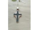 12-100 Крест (Ag 925)