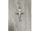 12-116 Крест (Ag 925)
