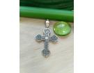 12-149 Крест (Ag 925)
