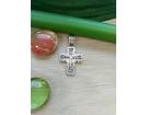 12-151 Крест (Ag 925)