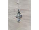 12-153 Крест (Ag 925)