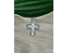 12-154 Крест (Ag 925)