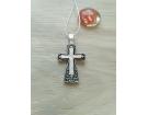 12-176 Крест (Ag 925)