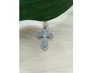 12-193 Крест (Ag 925)