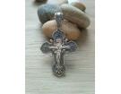 12-323 Крест (Ag 925)