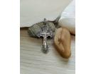 12-349 Крест (Ag 925)