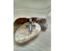 12-377 Крест (Ag 925)
