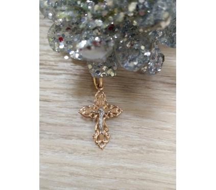 Православный крест из золота. Арт.Т13006656