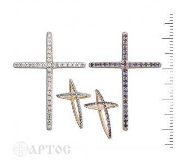 110001 Крест Золотой