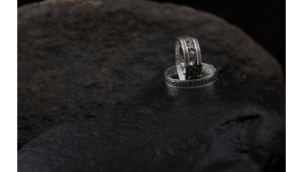 серебряные православные кольца