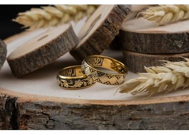 Православные кольца из серебра