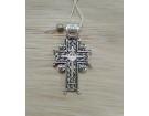 Голгофский крест. Серебро.