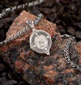 Серебряные образки и подвески