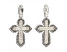 12-211 Крест (Ag 925)