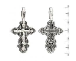 12-160 Крест (Ag 925)