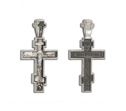 12-269 Крест (Ag 925)