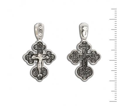 12-023 Крест (Ag 925)