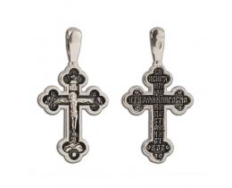 12-272 Крест (Ag 925)