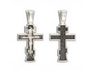 12-220 Крест (Ag 925)