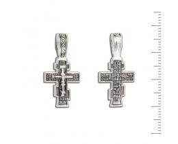 12-166 Крест (Ag 925)