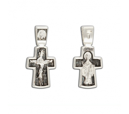 12-351 Крест (Ag 925)