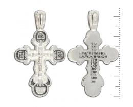 12-157 Крест (Ag 925)