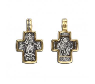 14-019 Крест (Ag 925)