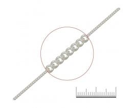 0240 Цепочка серебряная (Ag 925)