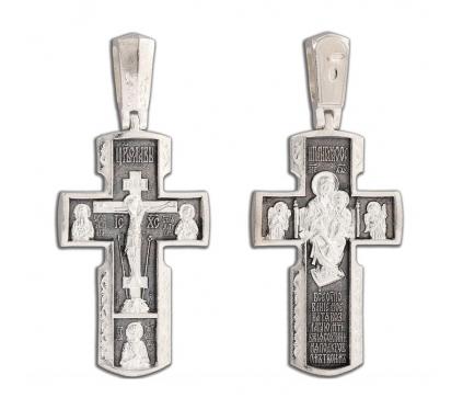 12-332 Крест (Ag 925)