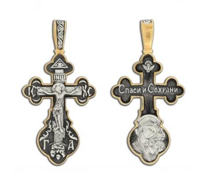 14-048 Крест (Ag 925)