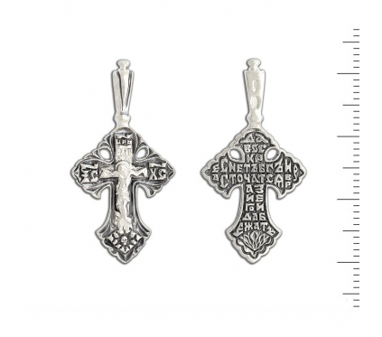 12-331 Крест (Ag 925)