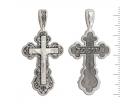 12-115 Крест (Ag 925)
