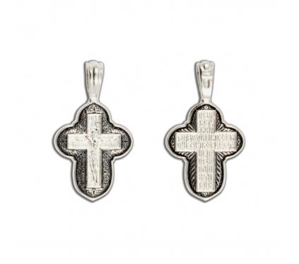 12-350 Крест (Ag 925)