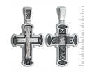12-404 Крест (Ag 925)