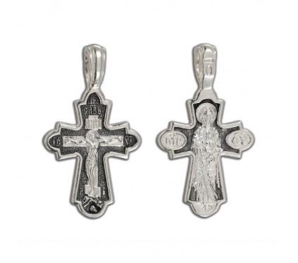 12-297 Крест (Ag 925)