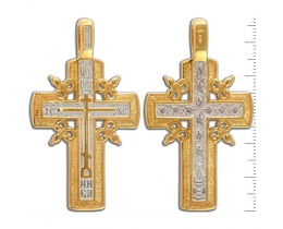 13-143 Крест (Ag 925)