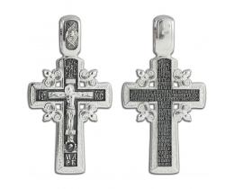12-278 Крест (Ag 925)