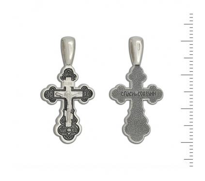 12-499 Крест (Ag 925)