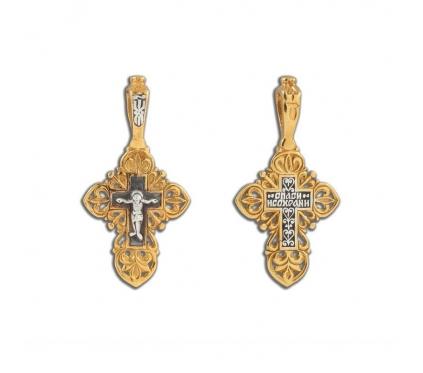 14-355 Крест (Ag 925)