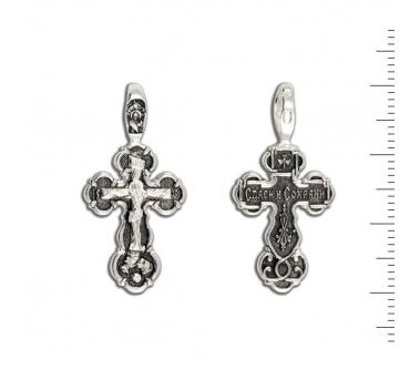 12-012 Крест (Ag 925)