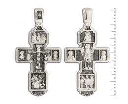 Распятие Христово. Православный крест. Арт. 12-017