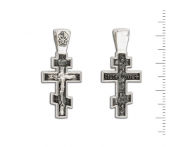 12-078 Крест (Ag 925)