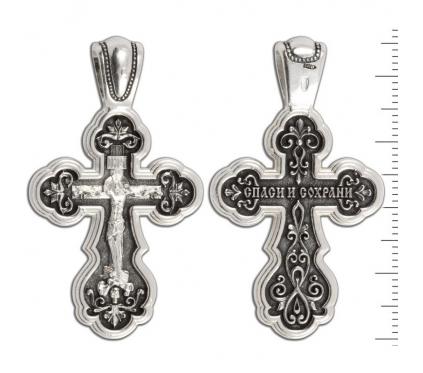 12-083 Крест (Ag 925)