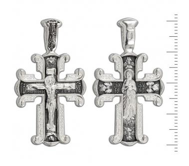 12-106 Крест (Ag 925)