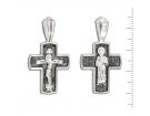 12-182 Крест (Ag 925)