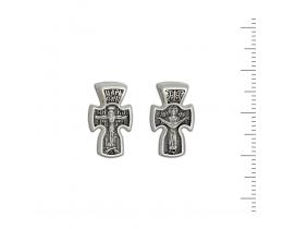 12-224 Крест (Ag 925)