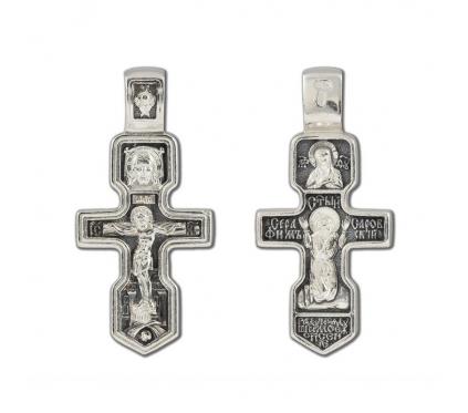 12-263 Крест (Ag 925)
