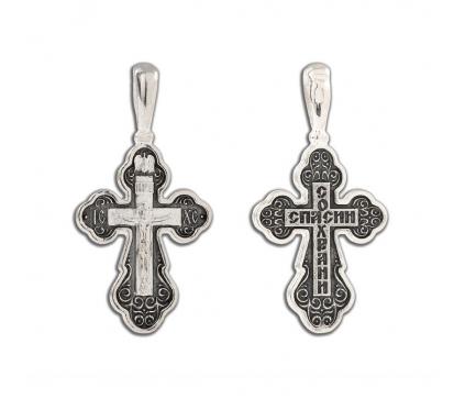 12-316 Крест (Ag 925)